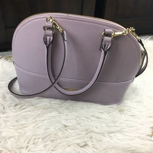 Purple Anne Klein Handbag | Crossbody Strap